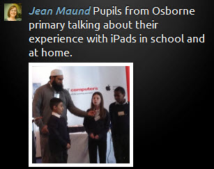 Osborne Pupils Speaking